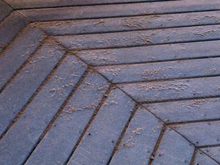 First Light on a sandy deck