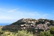 Corsica - paesino in collina
