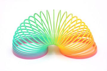 Molla a spirale colorata