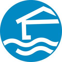 Maison inondable