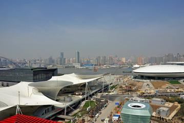 China, Shanghai expo landscape