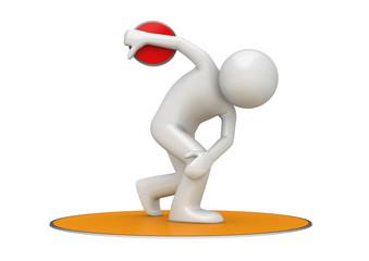 Discus throwing