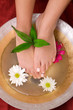 canvas print picture Foot care