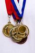 Winning sport medals