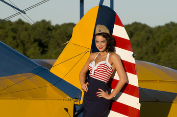 retro pinup girl
