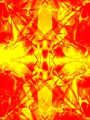 computer generated colorful bright abstract background