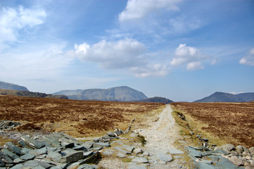 Straight path to Haystacks