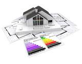 Energy efficient construction project poster