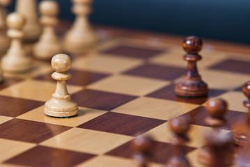 Partia szachów