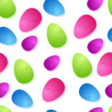 Bright Easter Egg Seamless Tile