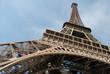 Structure métallique de la Tour Eiffel