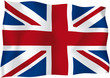 United Kingdom - UK flag - Vector