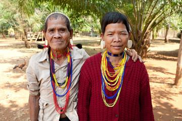 Portrait ethnische Gruppe Lawae, Laos