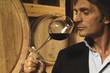 odorare il vino