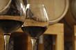 vino rosso e botte
