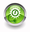 ''Solar energy'' glossy icon
