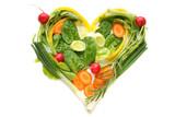 Fototapety salat herz