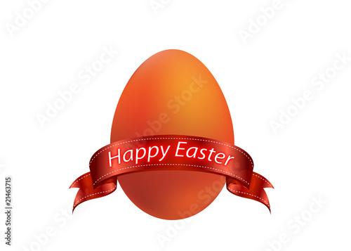 easter red egg