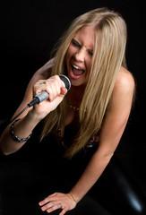 Rock Star Girl Singing