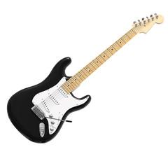 Black guitar 3D