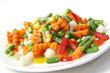 Erntefrisches Gemüse