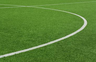 Fußballplatz Rasen-Kreise 5