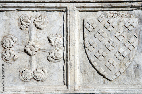 Detail of the Basilica of Santa Maria Novella in Florence