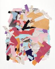 Colored paper composition