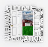 Open Door to Home Ownership poster