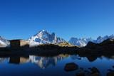refuge du lac blanc poster