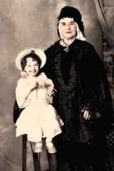 Granny and niece
