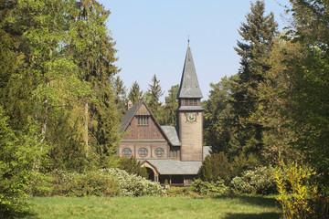 Stabholzkirche Südwestkirchhof Stahnsdorf