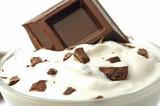 Fototapete Nachspeise - Schokolade - Nachtisch