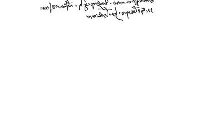 Specific handwriting of Leonardo da Vinci, right to left.