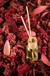 Scented Fragrance Sticks surrounded by lovely potpourri