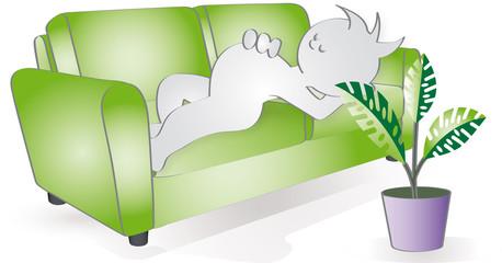 Grafix schläft