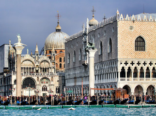 San Marco Plaza and church, Venice