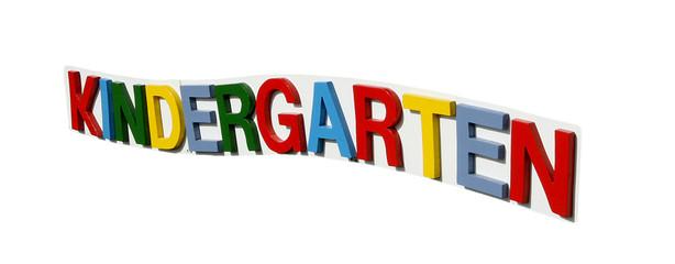 Kindergarten Buchstaben
