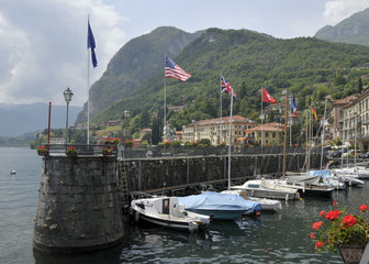 Menaggio harbour on Lake Como