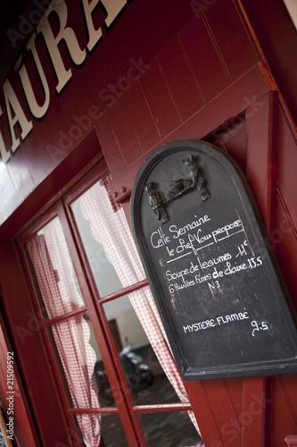 Bistrot à Montmartre, Paris