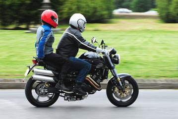Two biker turist
