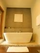 White bathtube