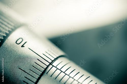 Micrometer close up - 21512122