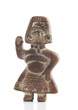 Clay Mexican Fertility Goddess Figurine
