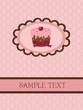 vintage cupcake design
