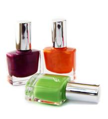 Colour vials of nail polish