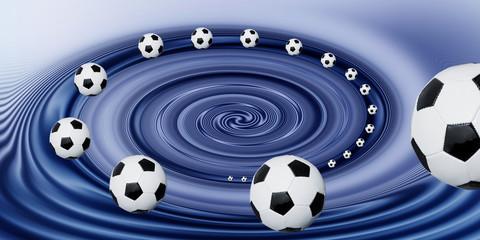 ..im Sog des Fußballs...