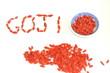 Goji fruits secs