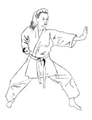 Self defense - karate