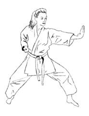 Self defense - karate